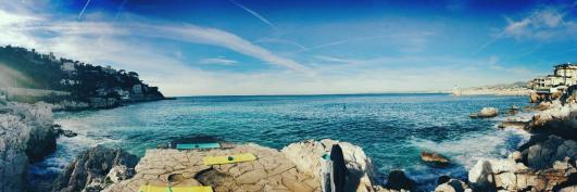 Outdoor Summer Venue   Pilates on the Rocks, Bvd Franck Pilatte in Nice