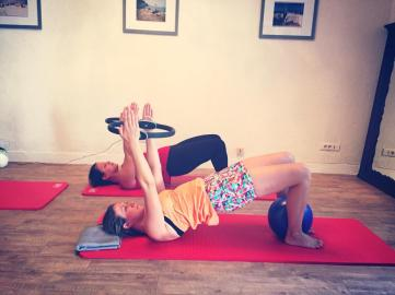 """Training in the CREW Pilates Studio 